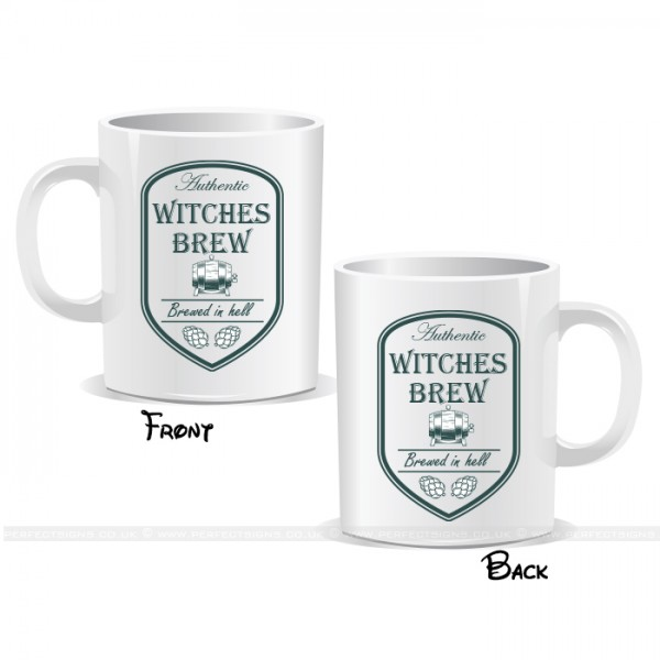Aunthentic Witches Brew Halloween Mug