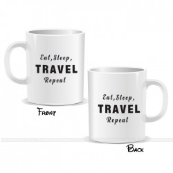 Eat Sleep Travel Repeat Mug