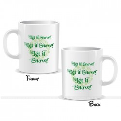 Let It Snow Christmas Mug