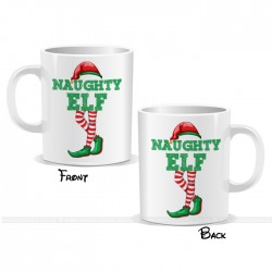Naughty Elf Christmas Mug