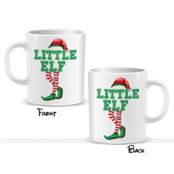 Little Elf Christmas Mug