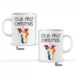 Our First Christmas Mug