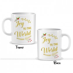 Joy To The World Christmas Mug