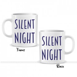 Silent Night Christmas Mug