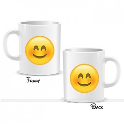 Happy Smiley Face Emoji Mug