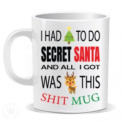 I Had To Do Secret Santa Mug