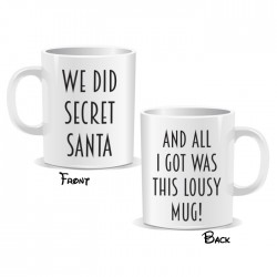 Secret Santa Lousy Mug