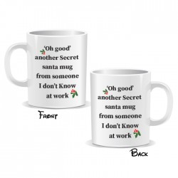 Oh God Another Secret Santa Mug