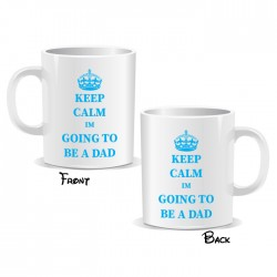 Keep Calm I'm Going to Be A Dad Mug