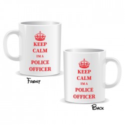 Keep Calm I'm a Police Officer Mug