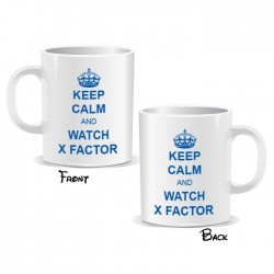 Keep Calm And Watch X Factor Mug