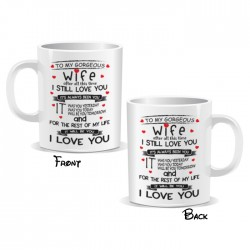 Wife I Love You Mug
