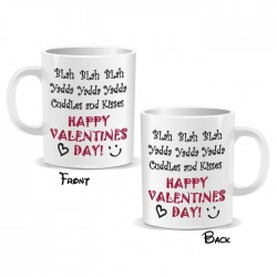 Blah Yadda Cuddles Happy Valentines Day Mug
