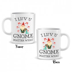 I Love You Gnome Mug