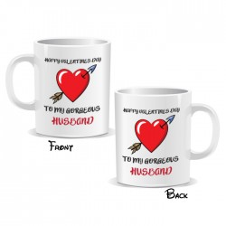 Happy Valentines Day Husband Mug