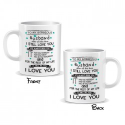 Husband I Love You Mug
