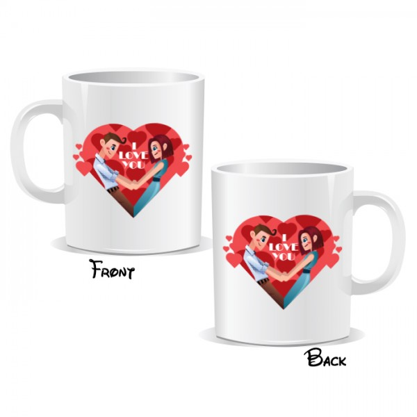 I Love You Couple Mug
