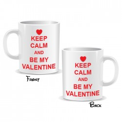 Keep Calm And Be My Valentine Mug