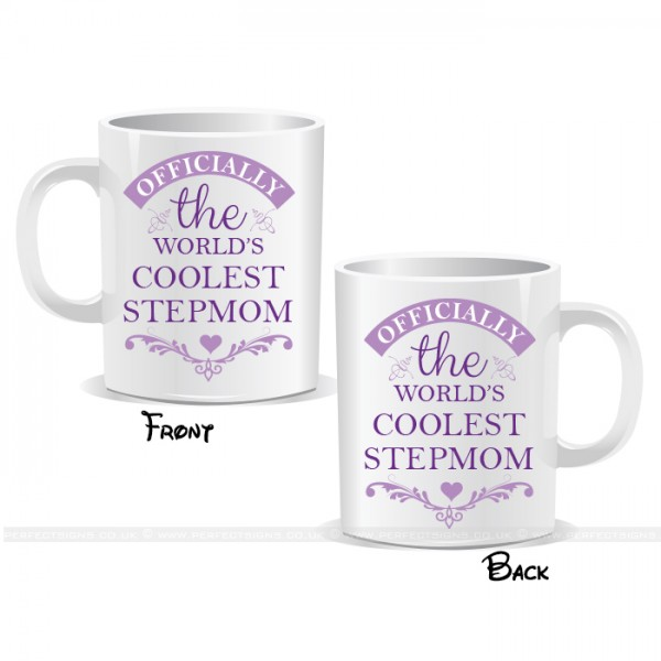 Officially The World's Coolest Stepmom Mug