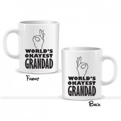 World's Okayest Grandad Mug