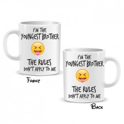 I'm The Youngest Brother Mug