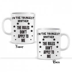 I'm The Youngest Brother Stars Mug