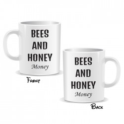 Bees And Honey Money Mug