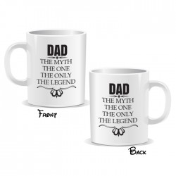 Dad The Myth The One The Only The Legend Mug