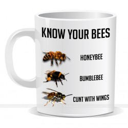 Know Your Bees Mug