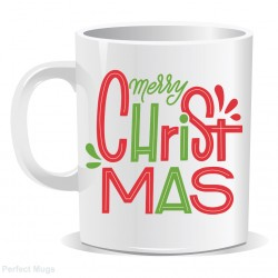 Secret Santa Merry Christmas Mug