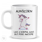 Aunticorn Like a Normal Aunt But More Awesome Mug