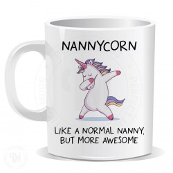 Nannycorn Like a Normal Aunt But More Awesome Mug