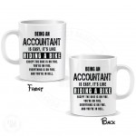Being a Accountant is Easy It is Like Riding a Bike Mug