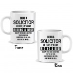 Being a Solicitor Easy It is Like Riding a Bike Mug