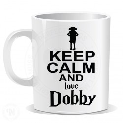 Keep Calm And Love Dobby Mug