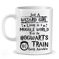 Just Wizard Girl Living in a Muggle World Took The Hogwarts Mug