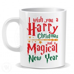 I Wish You a Harry Christmas and a Magical New Year Mug