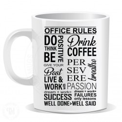 Office Rules Mug