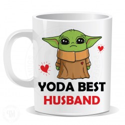 Baby Yoda Mug For Husband Valentines Day Gift