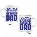 Superhero Dad Coffee Mug
