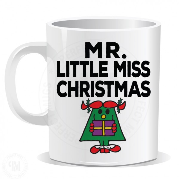 Mr Little Miss Christmas Mug