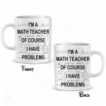 Funny Math Teacher Mug