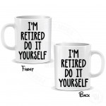 Retired Coffee Mug