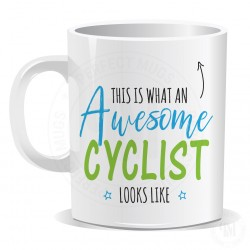 This is What an Awesome Cyclist Looks Like Mug