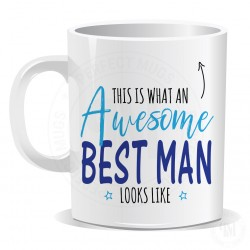 This is What an Awesome Best Man Looks Like Mug