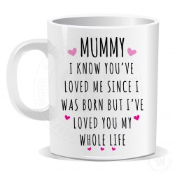 Mummy I know You Have Loved Me Since I Was Born Mug