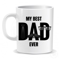 My Best Dad Ever Mug