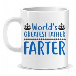 Worlds Greatest Father Farter Mug