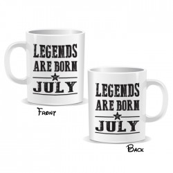 Legends Are Born July Mug