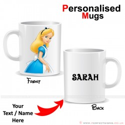 Alice in Wonderland Disney Personalised Mug